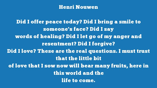 Quote By Henri Nouwen